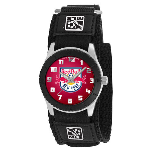 New York Red Bulls MLS Kids Rookie Series watch (Black)