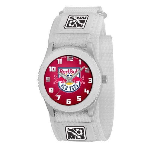 New York Red Bulls MLS Kids Rookie Series Watch (White)