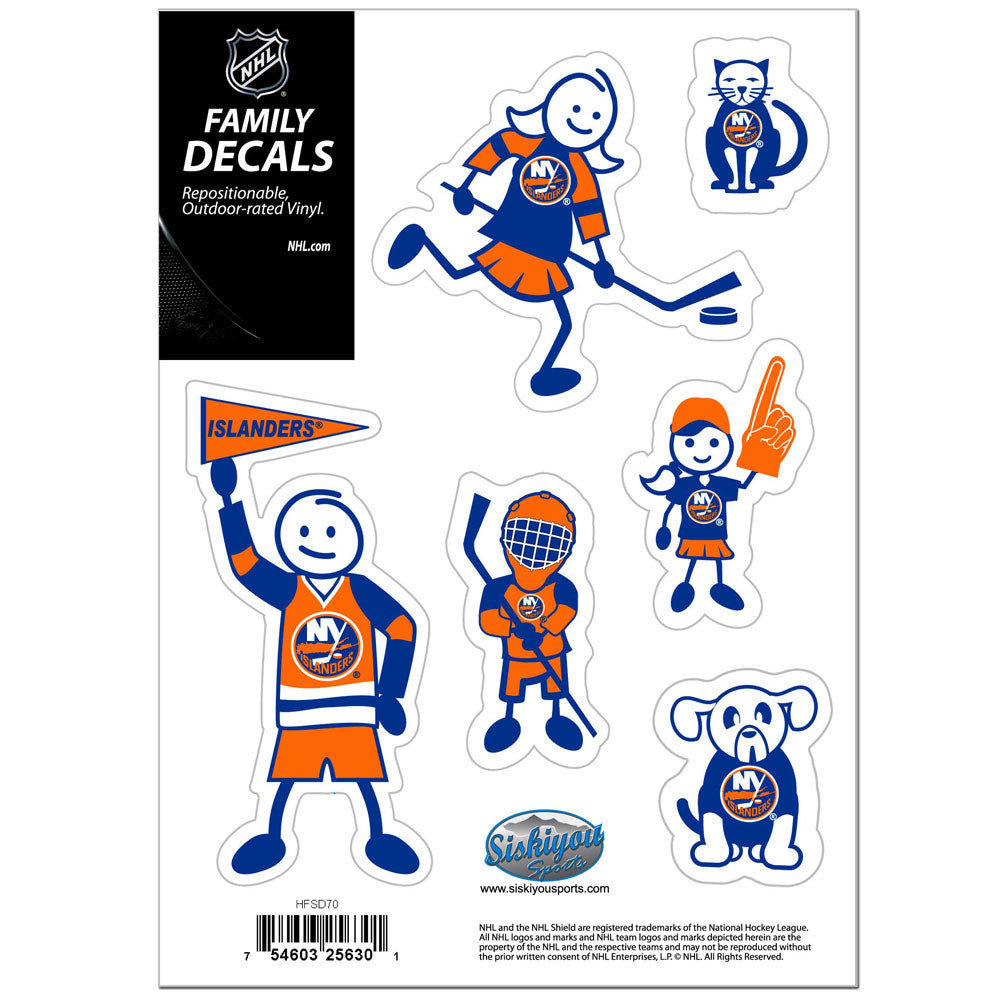 ISLANDERS FAM DECAL SM