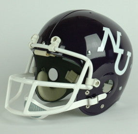 Northwestern Wildcats 1975-76 Authentic Vintage Full Size Helmet
