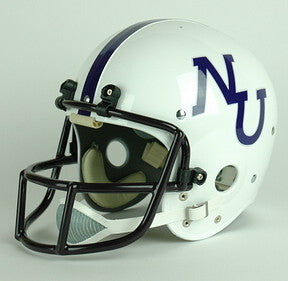 Northwestern Wildcats 1978 Authentic Vintage Full Size Helmet