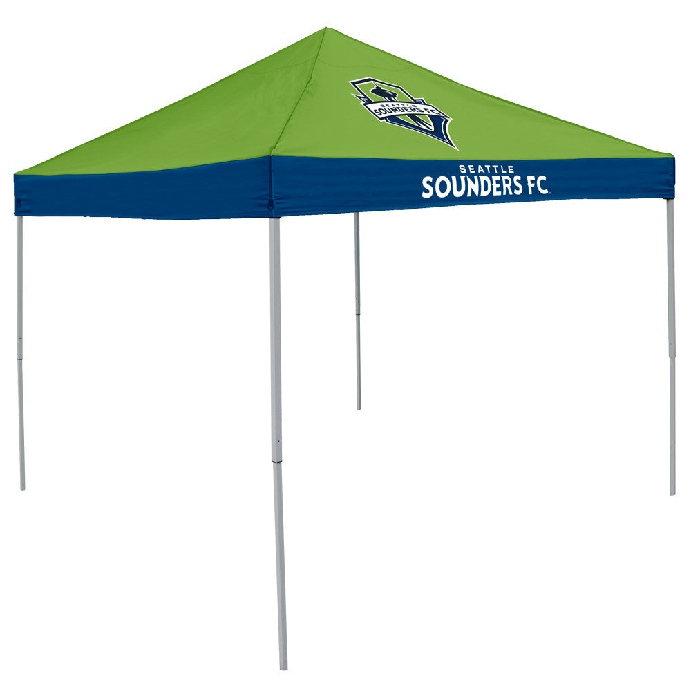Seattle Sounders FC MLS 9' x 9' Economy 2 Logo Pop-Up Canopy Tailgate Tent