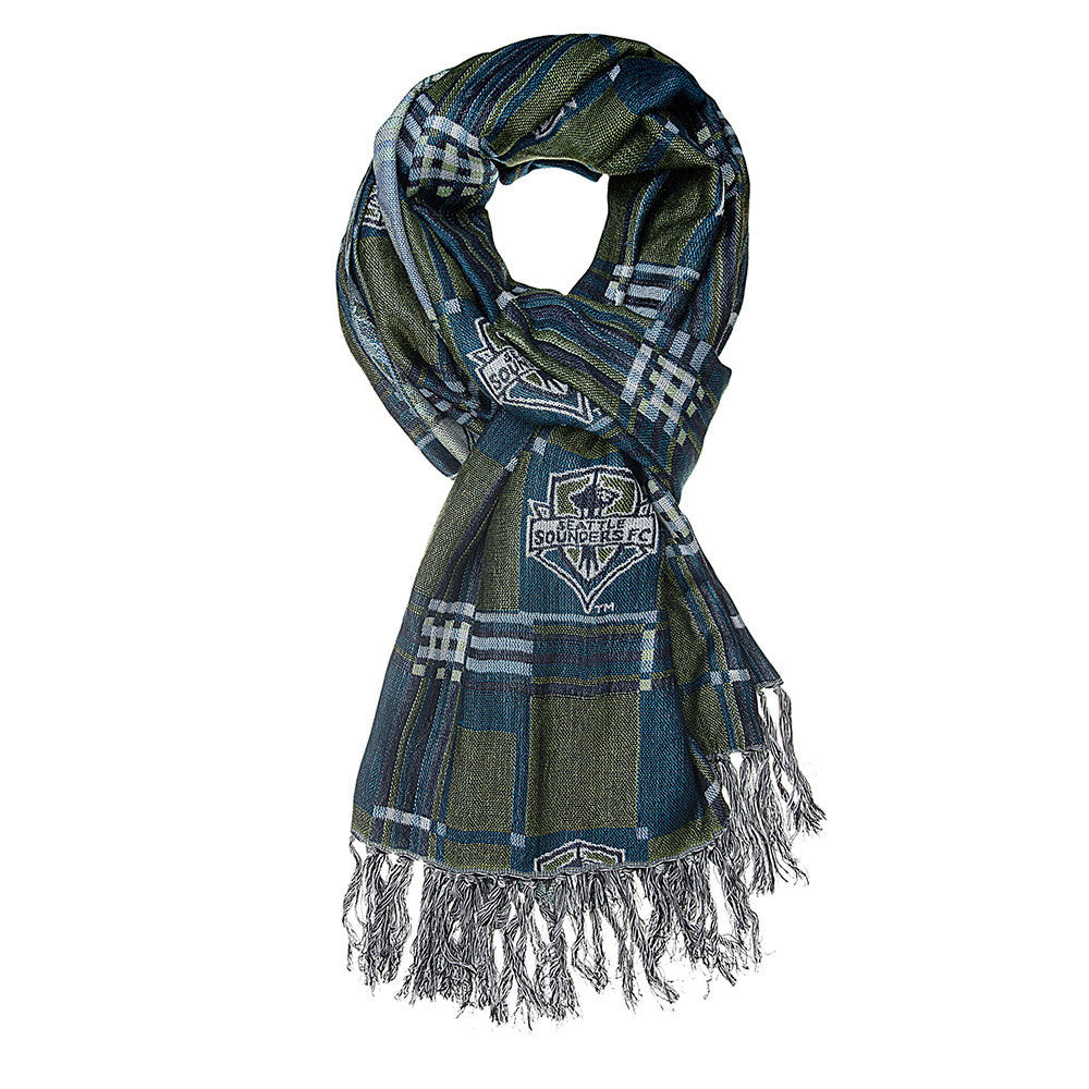 Seattle Sounders FC MLS Fashion Team Scarf