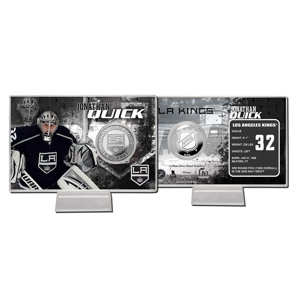 Jonathan Quick Coin Card
