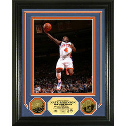 Nate Robinson 24KT Gold Coin Photo Mint