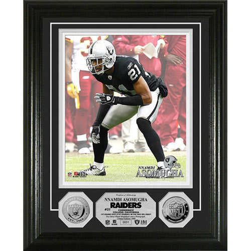 Nnamdi Asomugha 24KT Gold Coin Photo Mint