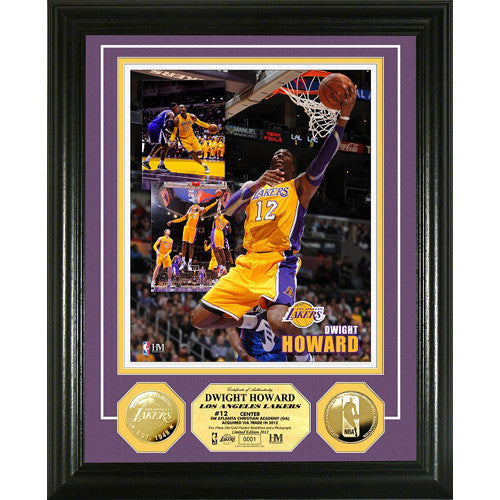 Dwight Howard  Gold Coin Photomint