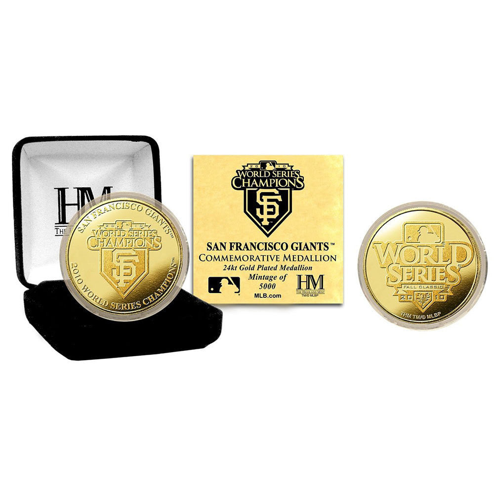 2010 World Series Champions 24KT Gold Coin