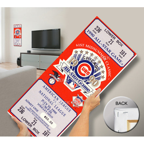 1990 MLB All-Star Game Mega Ticket - Cubs Host