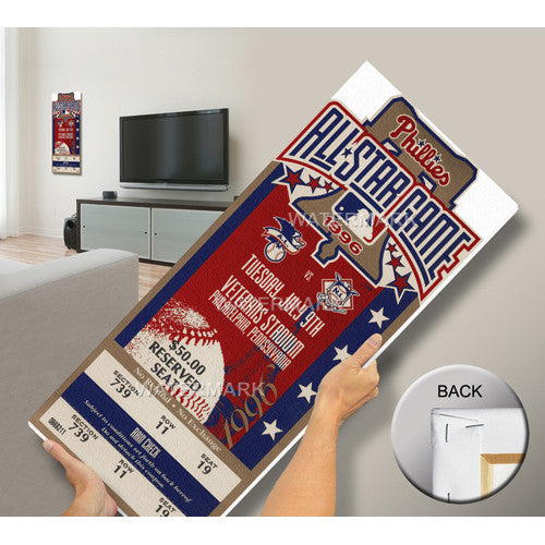 1996 MLB All-Star Game Mega Ticket - Phillies Host
