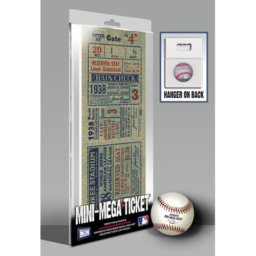 1938 World Series Mini-Mega Ticket - New York Yankees