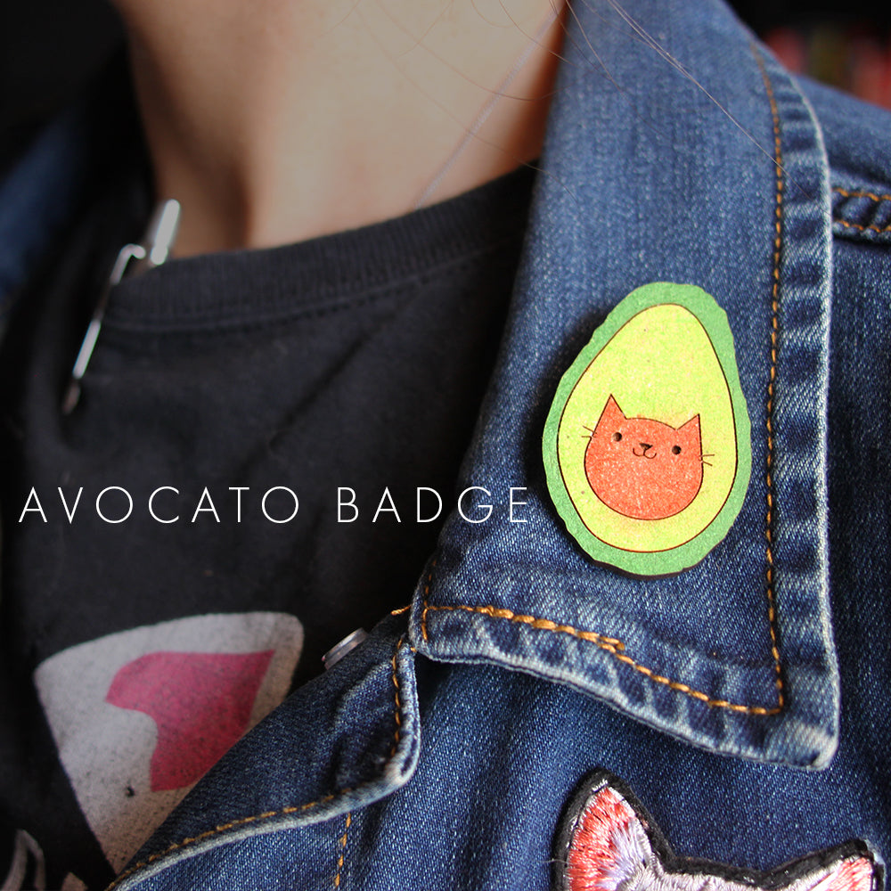 Cat Glitter - AvoCATo