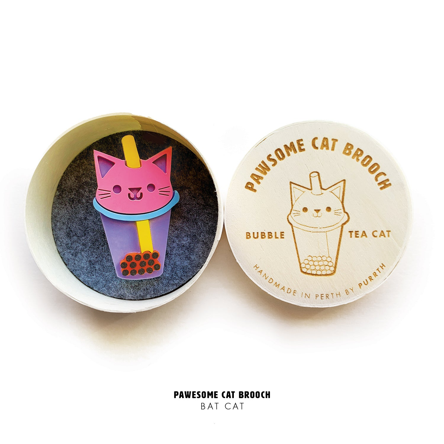 Pawesome Cat Brooches