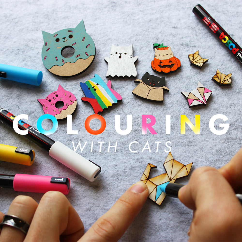 Colouring with Cats