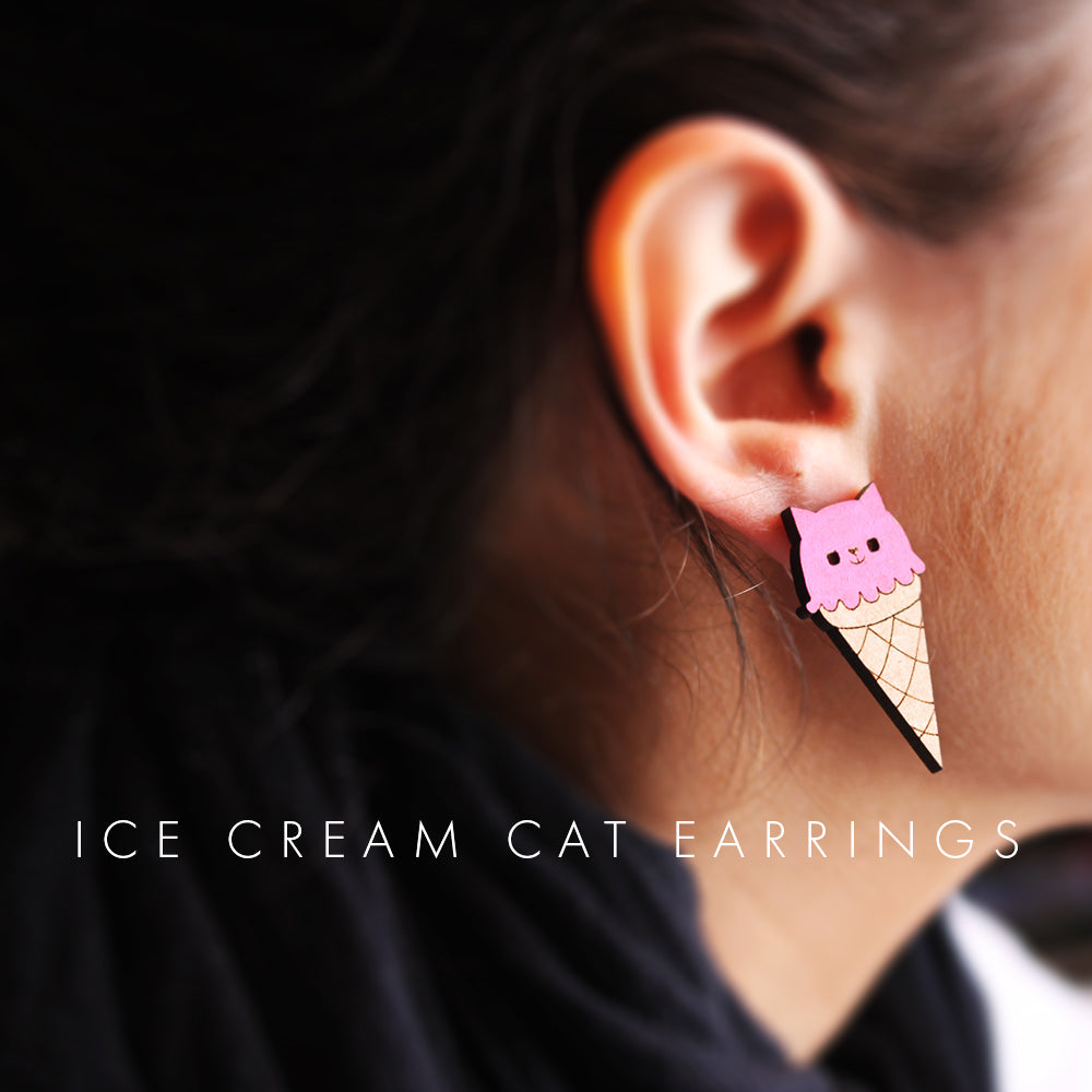 Cat Glitter - Ice Cream