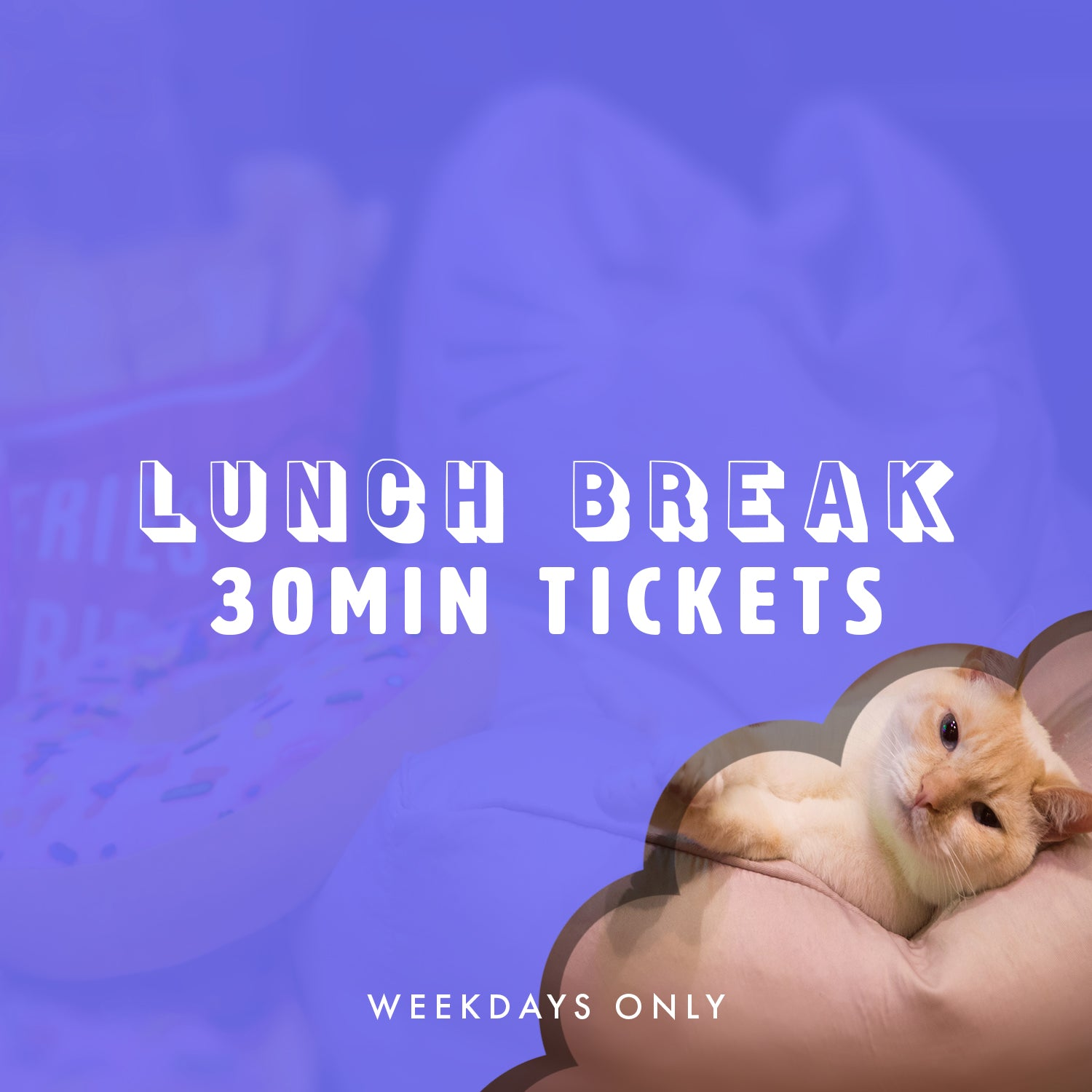 Lunch Break 30 Minute Ticket