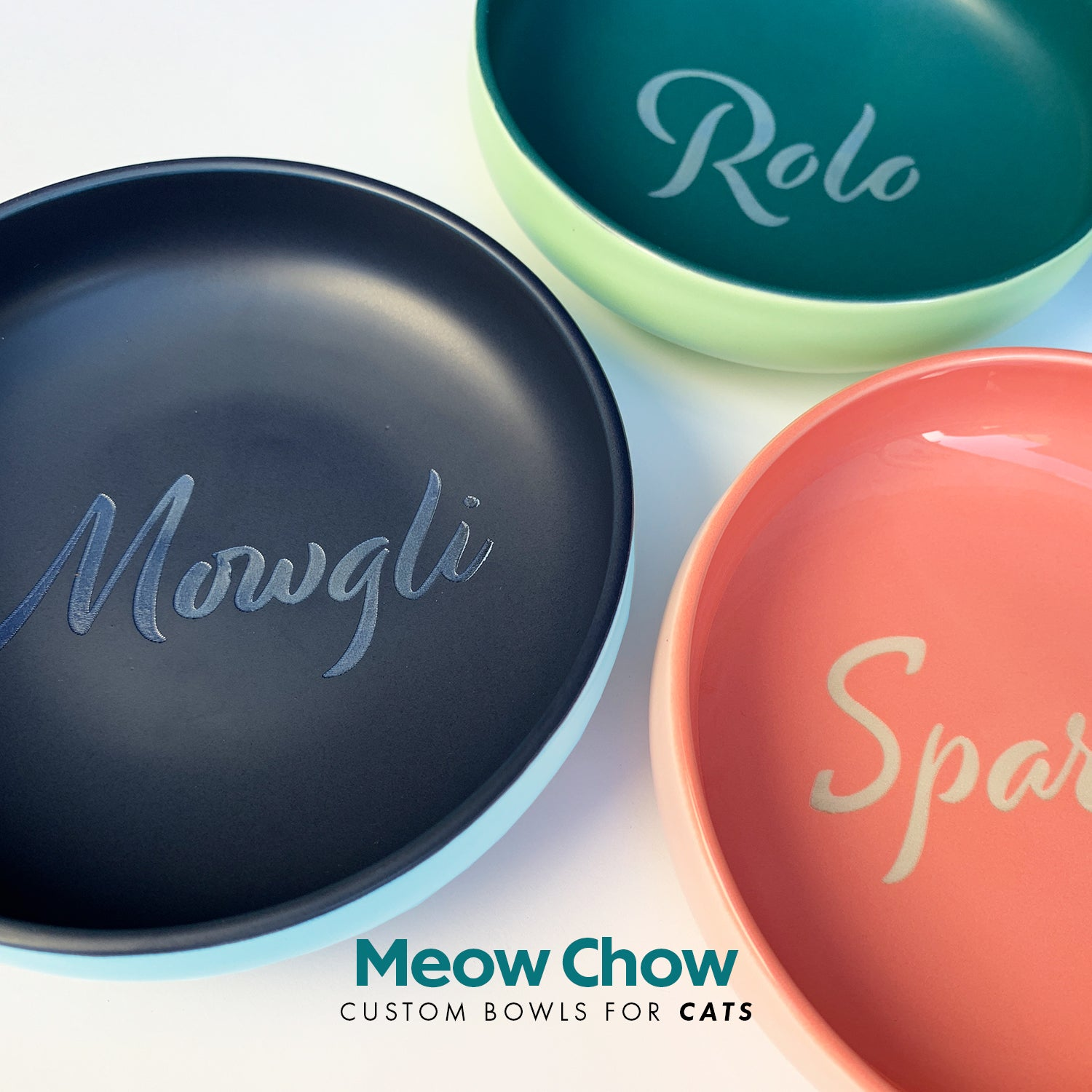 Meow Chow - Bowls for Cats