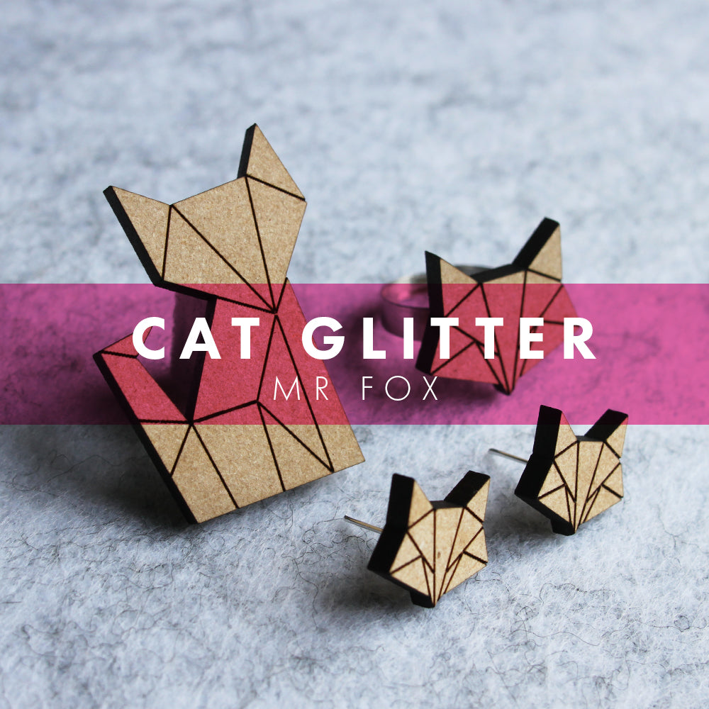 Cat Glitter - Mr Fox