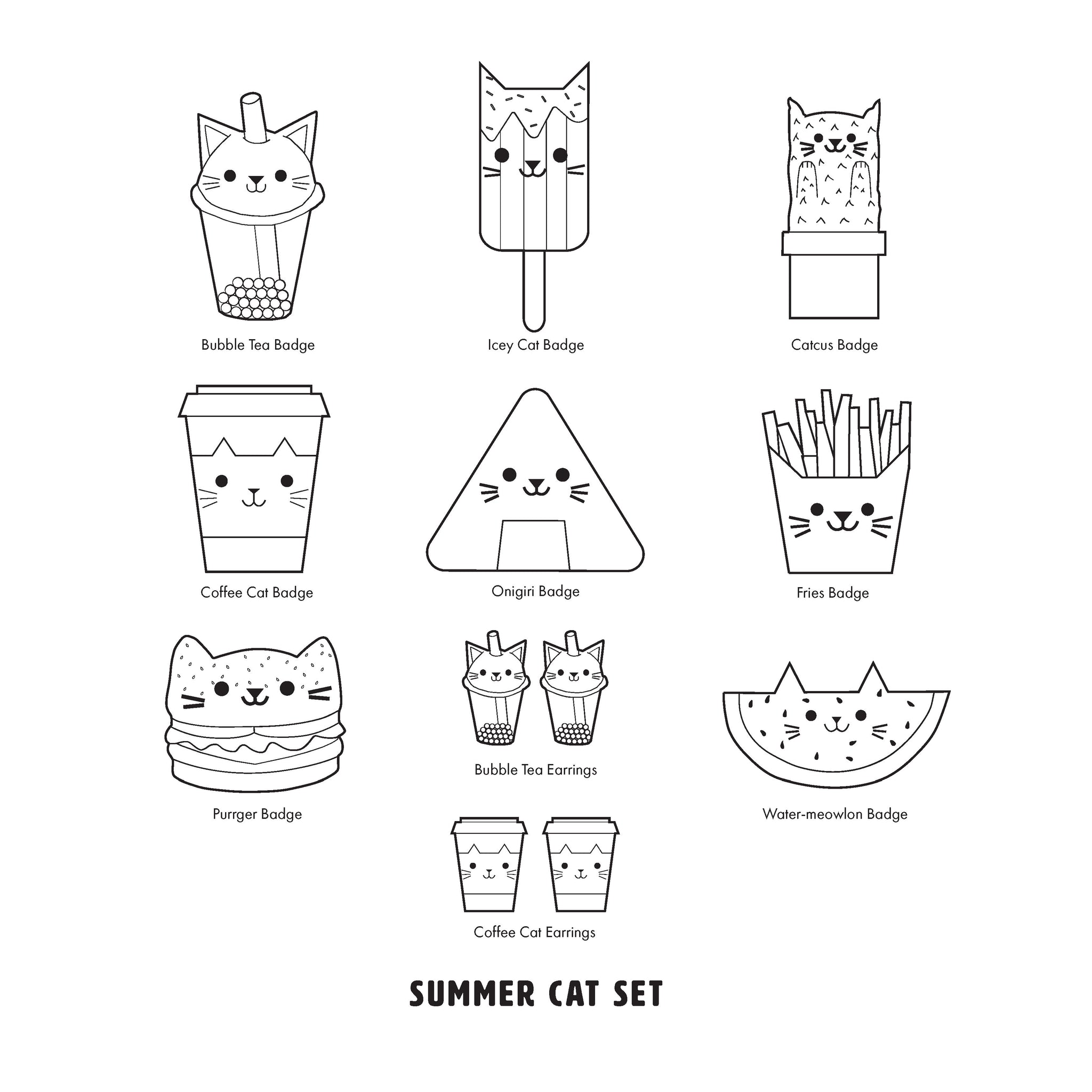 Colour Your Own Cat Glitter