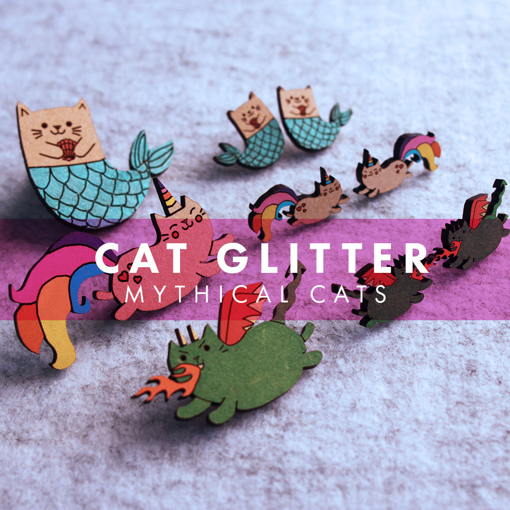 Cat Glitter - Mythical Cats