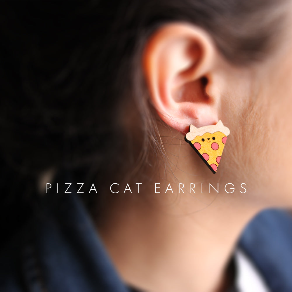 Cat Glitter - Pizza