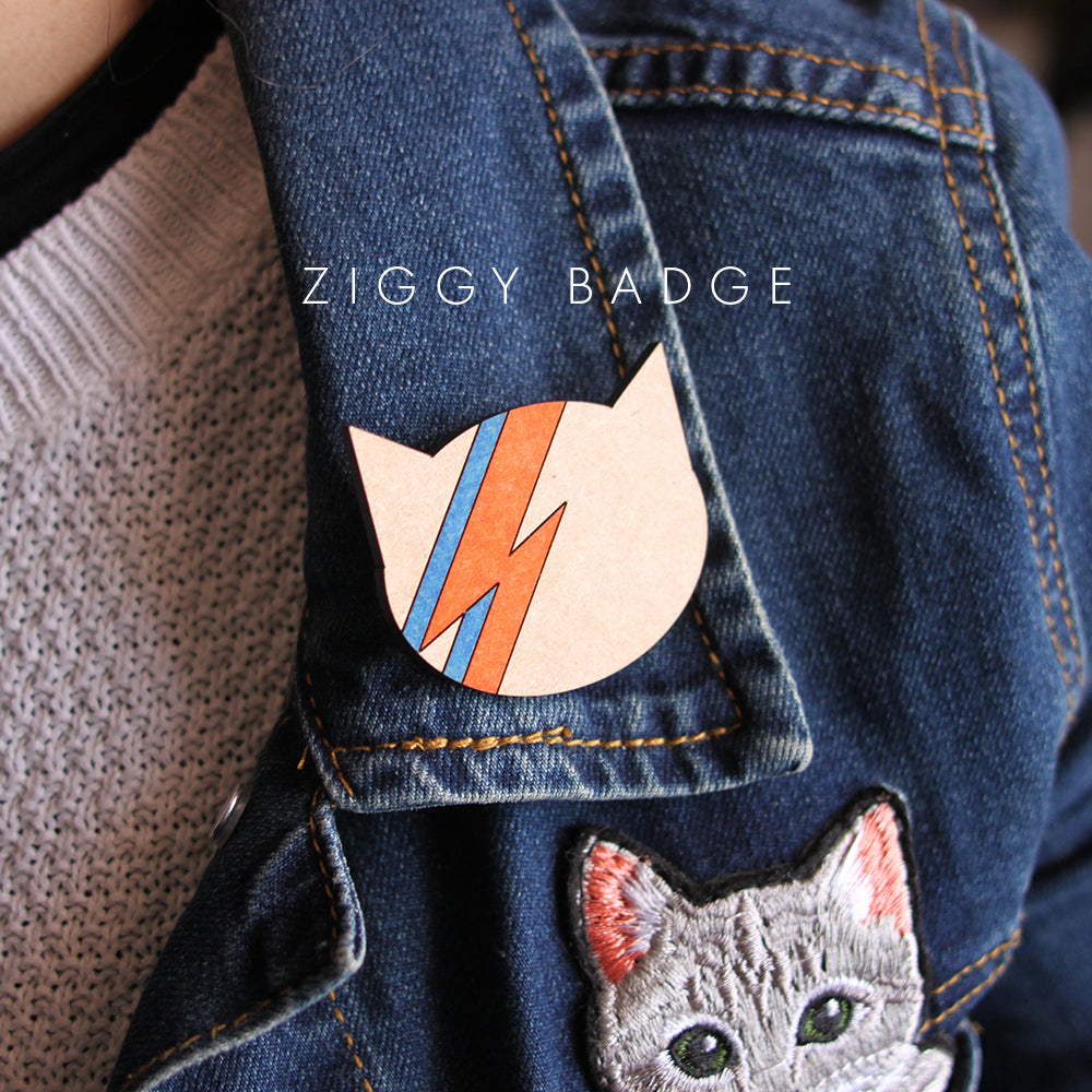 Cat Glitter - Ziggy
