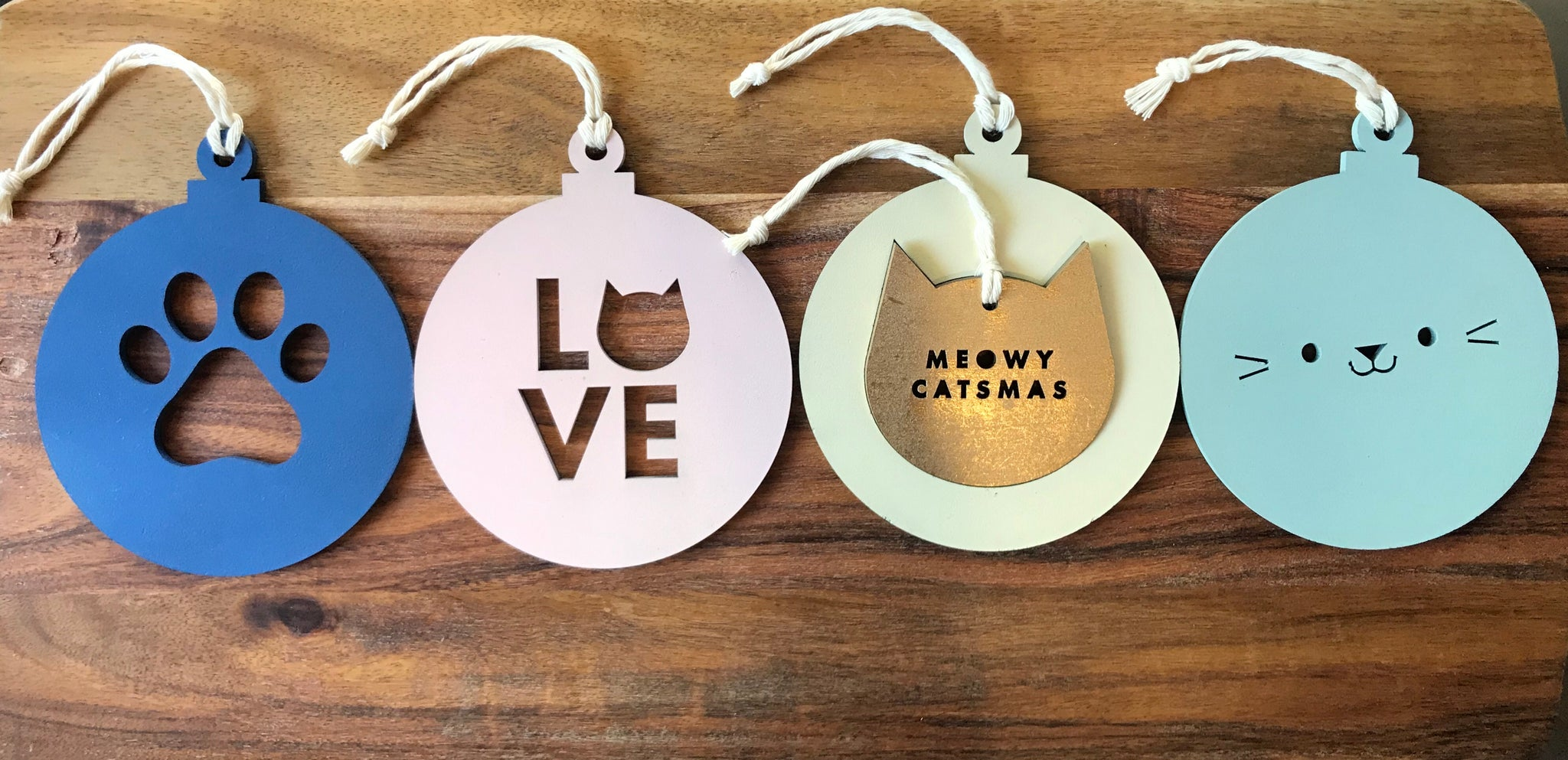 Meowy Catsmas Baubles