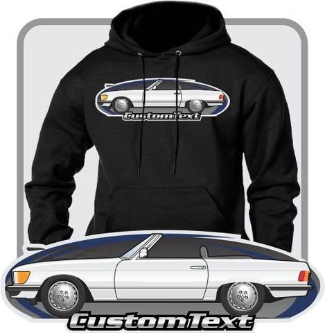 Custom Art Hoodie R107 1972 73 74 75 77 78 1979 Mercedes Benz 280 350 450 SL Convertible