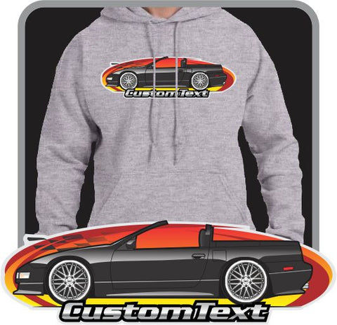 Custom Art Hoodie 1993 94 95 96 Fairlady Nissan Z32 300ZX Convertible