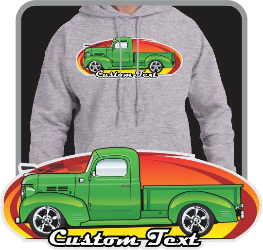 Custom Art Hoodie 1939 39 1940 40 1946 46 1947 47 Dodge Truck Pickup
