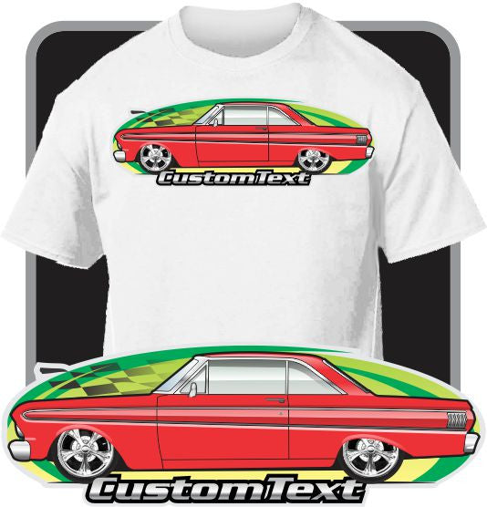 Custom Art T-Shirt inspired on 64 1964-65 Ford Falcon Hardtop Sprint Futura