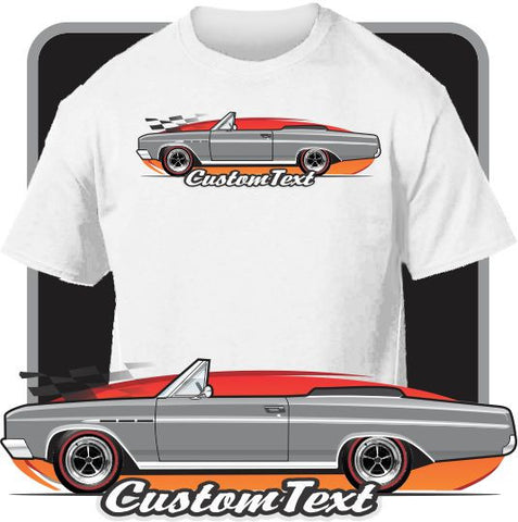 Custom Art T-Shirt  64 1964 65 1965 Buick Skylark 340 GS Convertible