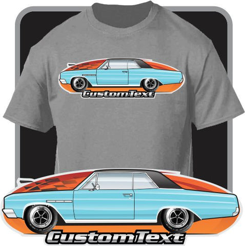 Custom Art T-Shirt  64 1964 65 1965 Buick Skylark 340 GS Coupe Hardtop