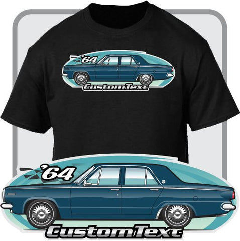 Custom Art T-Shirt 1964 64 Dodge Dart 4 door Sedan 225 Six V8 170 270