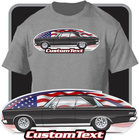 Custom Art T-Shirt 65 1965 Plymouth Belvedere Satellite 2 door Hardtop V8