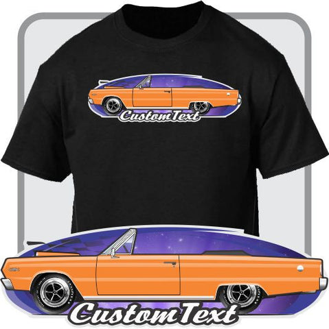 Custom Art T-Shirt 1966 1967 Plymouth Belvedere Satellite Convertible GTX fans