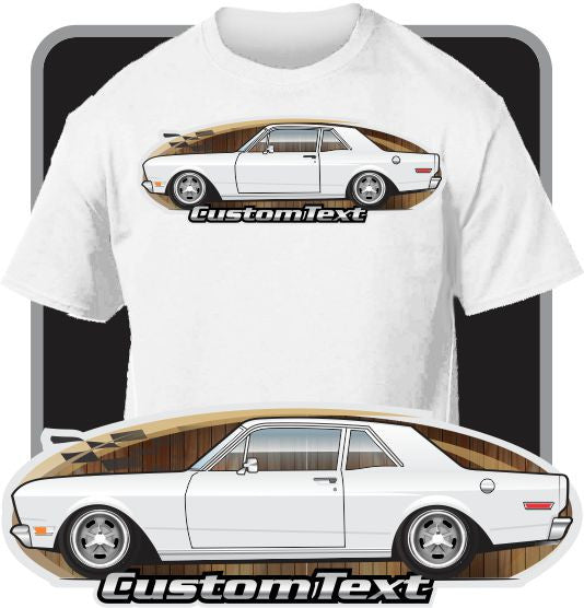 Custom Art T-Shirt inspired on 1966-70 Ford falcon Sports Coupe Futura 302
