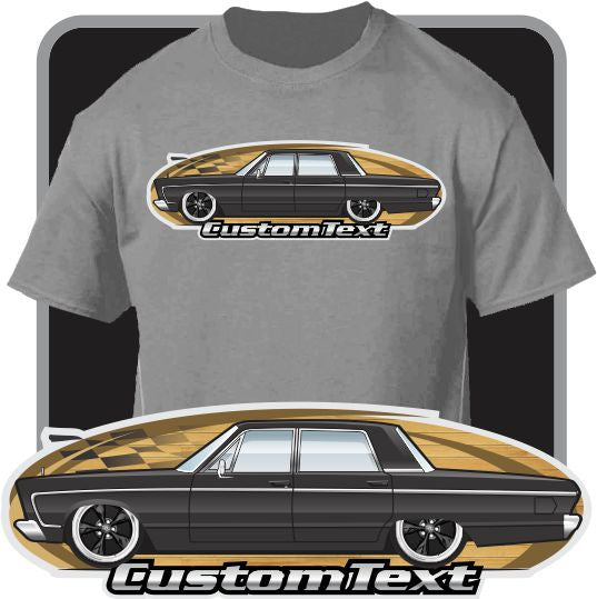 Custom Art T-Shirt 66 1966 Plymouth VIP Fury I II III Sedan 318 383 426 440