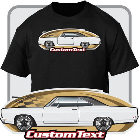 Custom Art T-Shirt 68 69 70 Plymouth Belvedere Satellite Coupe Sedan Wagon