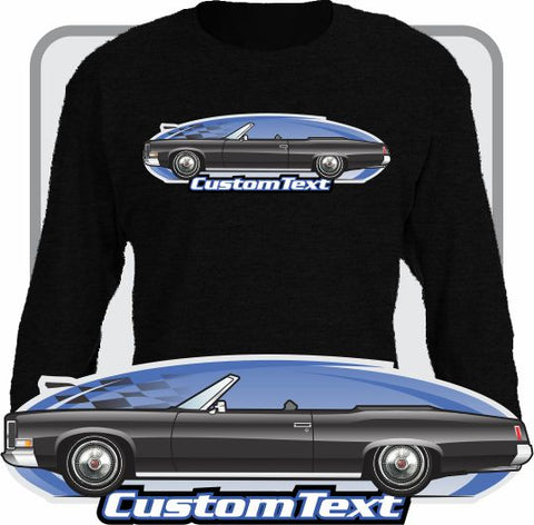 Custom Art Long Sleeve 1971 71 Pontiac Catalina Convertible V8 400 455 Grand Ville
