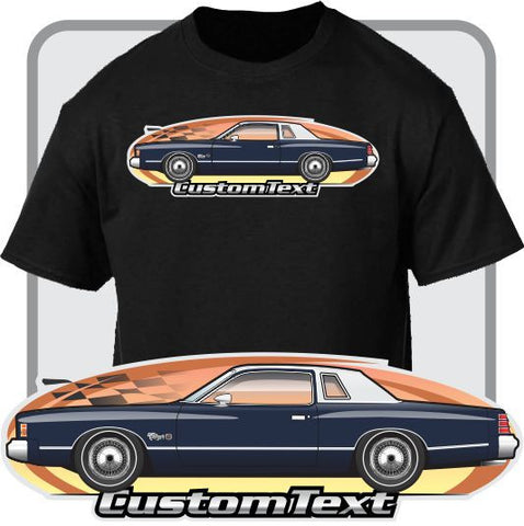 Custom Art T-Shirt for 77 78 1978 Dodge Charger SE Special Edition 318 360 400