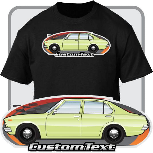 Custom Art T-Shirt for 71-77 A10 Toyota carina Ta12 4 door Sedan GT 1400 ST 1600 Fans