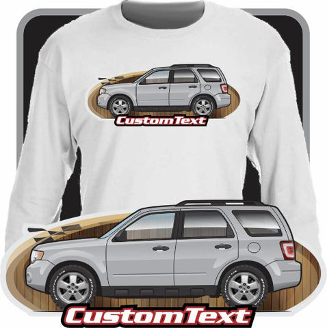 Custom Art Long Sleeve 08 09 10 1 12 2008 2009 2010 2011 2012 Ford Escape XLS XLT Limited Hybrid Mercury Mariner Mazda Tribute V6 2.0 2.3L 3.0