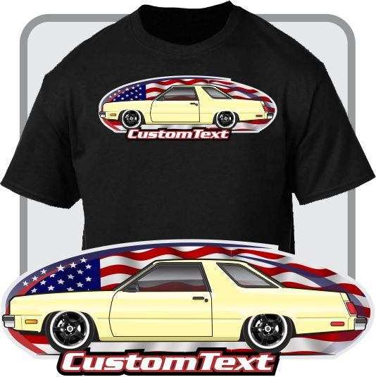 Custom Art T-Shirt inspired on 78 79-83 Ford Fairmont Futura Coupe Sedan Wagon cars