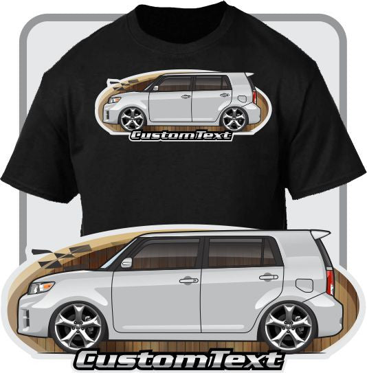 Custom Art T-Shirt for 2008 09-2015 Toyota Rukus Scion Xb RS 5.0 6.0 7.0 8.0 9.0 10