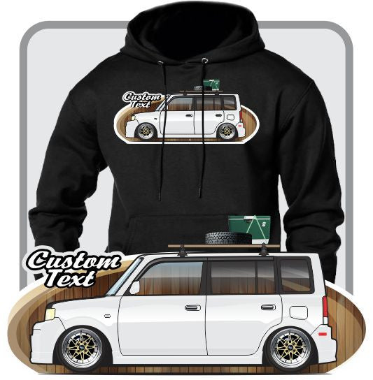Custom Art Hoodie 2004 2005 2006 2007 Toyota scion bB Xb RS 1.0 2.0 3.0 4.0