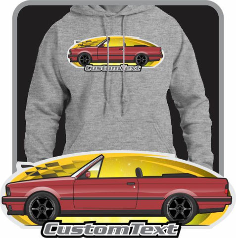 Custom Art Hoodie 1982 82 1983 83 1984 84 1985 85 1986 86 1987 87 1988 88 1989 89 90 1990 91 1991 92 1992 E30 BMW M3 Evo 318 320i 323i 325i convertible