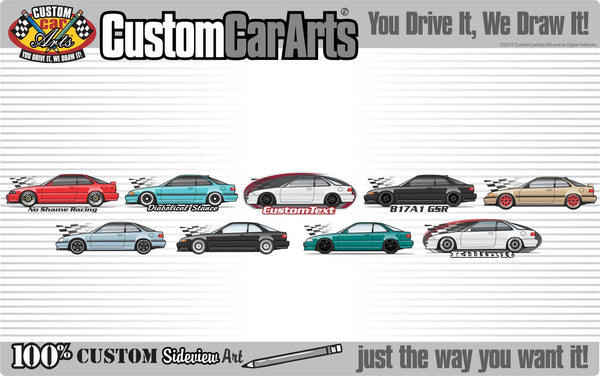 Custom Art T-Shirt inspired on 1990 91 92 93 94 95 96-2005 NSX-T R not affiliated with HONDA ,  Acura
