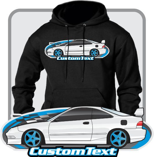 Custom Art Hoodie inspired on 1994 95 96 97 98 99 00 2001 integra GS-R SE not affiliated with HONDA Acura