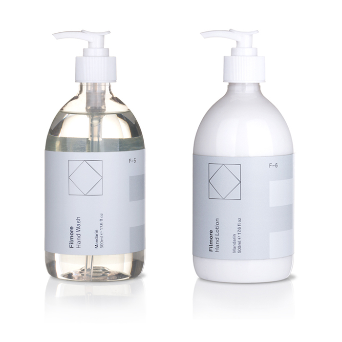 Hand Wash & Hand Lotion Set F-5+F-6 500ml